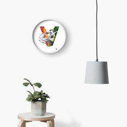 Vegan Beefcake Clock
