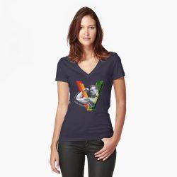 Vegan Beefcake V-Neck T-shirt