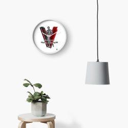 Vegan Beefcake 3 Clock