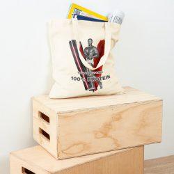 Vegan Beefcake 3 Tote Bag