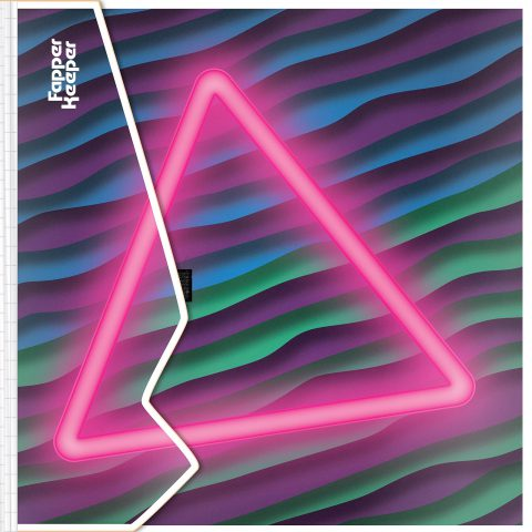 Neon Triangle [Fapper Keeper]. Brent Pruitt, illustration, 2019