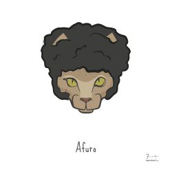 Afuro — Trendy Hair Styles for Sphinx Cats