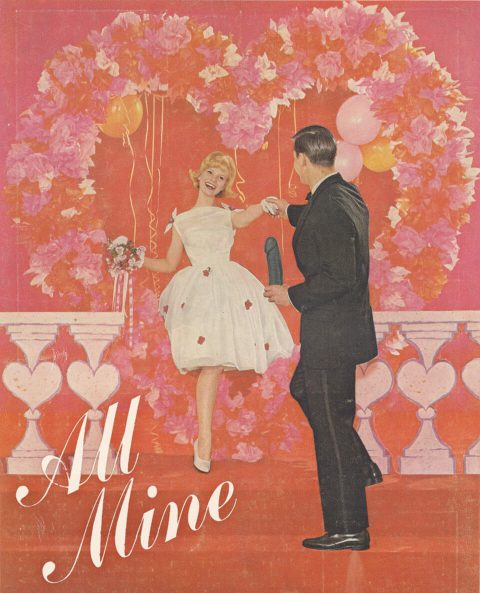 Be Mine, All Mine, Brent Pruitt, assemblage/collage, 2014