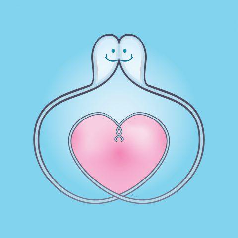 Cum Lovers. Brent Pruitt, illustration, 2021