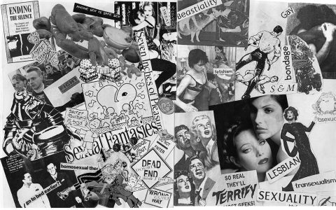 Dead End. Brent Pruitt, assemblage/collage, 1994