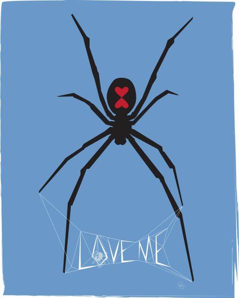 Love Me [Blue]. Brent Pruitt, illustration, 2011