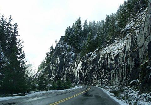 Mt. Hood National Forest, Road Trip. Brent Pruitt. Digital photograph, color, 2010