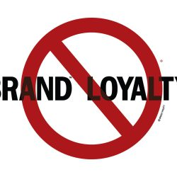 No Brand Loyalty