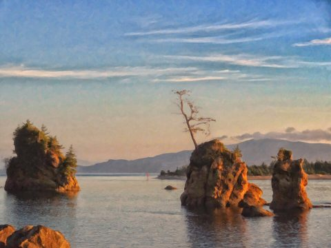 Pirate Cove [Painterly Edition]. Brent Pruitt, photograph, 2012