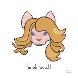 Purrah Pawsett — Trendy Hair Styles for Sphinx Cats
