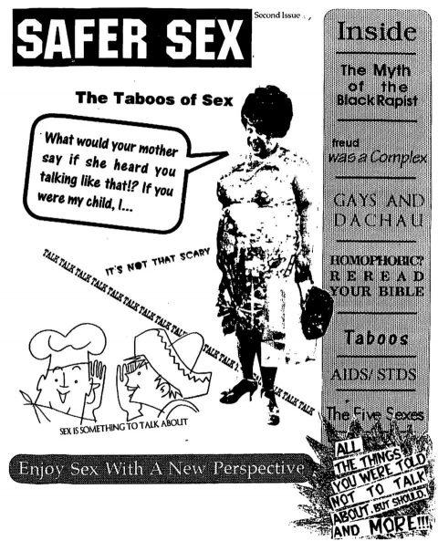 Safer Sex [Issue 2]. Brent Pruitt, assemblage/collage, 1994