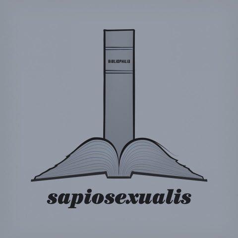 Sapiosexualis. Brent Pruitt, illustration, 2017