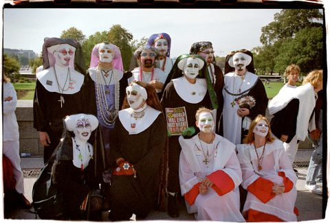Sisters of Perpetual Indulgence. Brent Pruitt. 35mm photograph, 1996