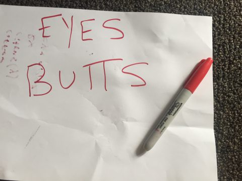 eyes on butts :: Brent Pruitt