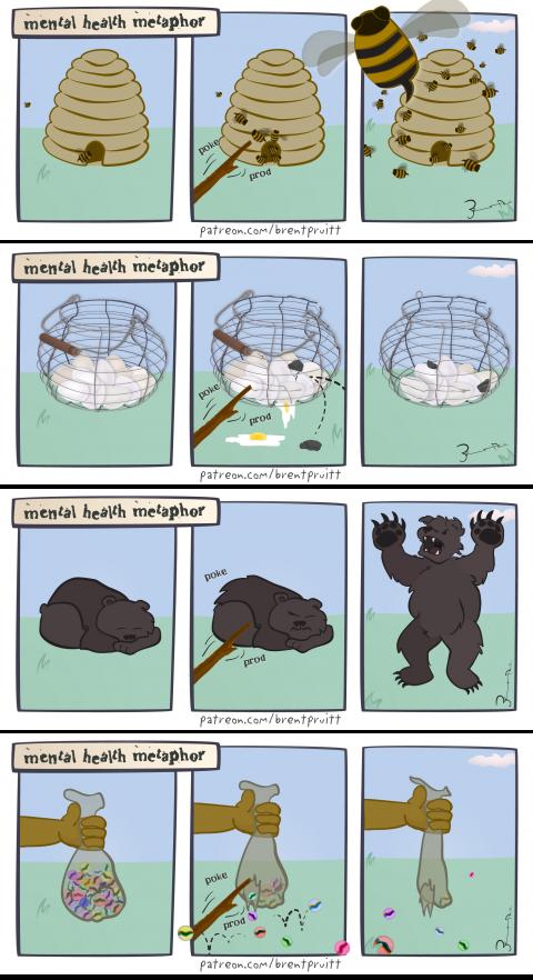 bees! bears! marbles! eggs! :: Brent Pruitt