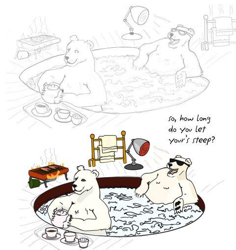 boiling bears :: Brent Pruitt