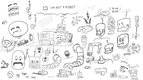 robotic overlords :: Brent Pruitt
